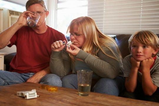 narkomane foreldre