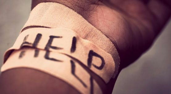 rop om hjelp
